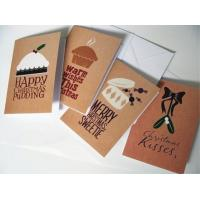 China Commercial Custom Christmas Card Printing Service , Greeting Card Printing Services wholesale