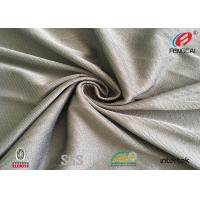 China Plain Dyed Mesh / Tulle 82 Polyester 18 Spandex Fabric , Polyester Lycra Fabric 71'' wholesale