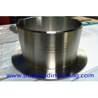 China UNS S32760 ANSI B16.9 2'' SCH20 Super Duplex Stainless Steel Stub Ends Butt Welded wholesale