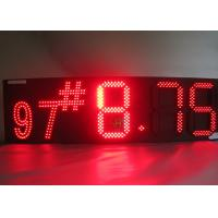 China 8888 Oil Price Led Sign , LED Moving Message Display High Brightness wholesale
