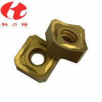 China Tungsten Carbide Milling Machine Cutting Tools , CNC Milling Inserts High Cutting Speed wholesale