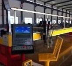 China Large Cnc Metal Laser Cutter , Table Top Laser Cutting Machine Air O2 N2 Working Gas wholesale