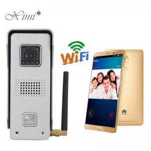 China Good Quality Waterproof Metal Case WIFI Remote Control Video Door Bell Internet WIFI Video Door Phone wholesale