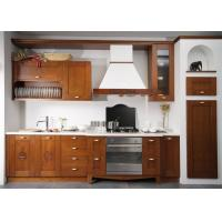 China Prima Home Solid Wood Shaker Style Kitchen Cabinets Free Design With Blum / Dtc Hardware wholesale