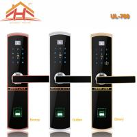 China Touch Keypad Fingerprint Door Lock IC Card Access Control And Remote Controller wholesale