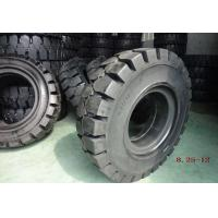 China Black Solideal Forklift Tires , Pneumatic Forklift Industrial Tyres 8.25-12 on sale