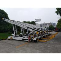 China Towable Baggage Conveyor Belt Loader , 700 - 750 Mm Width , Easy Operation wholesale