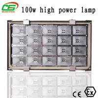 China 100w Gas Station Led Canopy Light , 10000 Lux Led Industrial Lighting Fixture wholesale