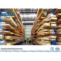 China Industrial Cold Roller Steel Cantilever Storage Racks Shelves for Warehouse wholesale