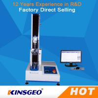 China 100KG Tensile Strength Testing Equipment , Universal Tensile Testing Machine With Speed 0.1-500mm/min wholesale