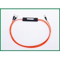 China 1x2 Fused Multimode Fiber Coupler , 1*2 ABS Box Splitter Module for Optical Monitoring System wholesale