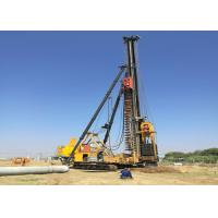 China Drop Hammer Piling Rig Two Movement Types Crawler Type Walking Type wholesale