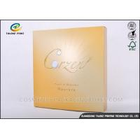 China Foil Logo Luxury Packaging Boxes , Collapsible Gift Boxes Non - Benzene Printing on sale