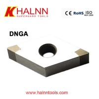 China DNGA150404 BN-H11 Halnn Welded PCBN indexable inserts for machining bearing steel wholesale