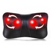 China Shiatsu Back and Neck Massager Electric Massage Pillow with Heating wholesale
