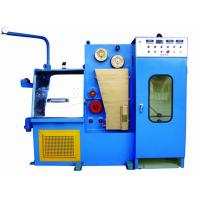 China Online Wire Annealing Machine For Fine Wire Range 0.08mm To 0.25mm Compact Wire Drawing Line wholesale