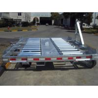 China 7 Ton Loading Airport Ground Support Equipment Aviation White Airport Luggage Trailer wholesale