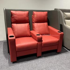 China Contemporary Home Cinema System With Couple VIP Seating With Colorful Design wholesale