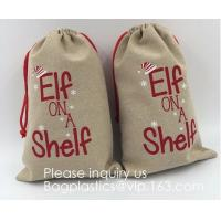 Buy cheap Gift Bag Jute Packing Storage Linen Jewelry Pouches Sacks for Wedding Party from wholesalers