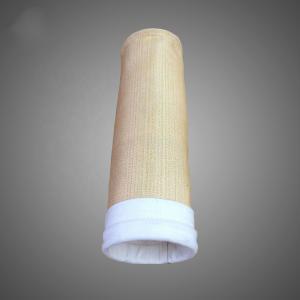 China 500gsm~550gsm Aramid Nomex filter bag for asphalt plant cement industry wholesale