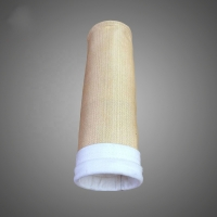 Buy cheap 500gsm~550gsm Aramid Nomex filter bag for asphalt plant cement industry from wholesalers