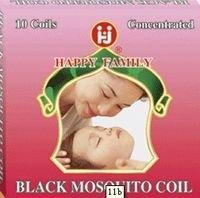 Quality High Quality Black Fragrant Mosquito Coils/145mm for sale