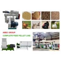 China AMEC Complete Factory Price Industrial 2t/h Poultry Feed Mill Plant wholesale