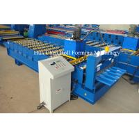 China CNC Colored Steel Roofing Sheet Roll Forming Machine For Steel Roof And Wall wholesale