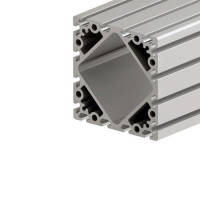 China 160*160 aluminium extrusion T-slot profile use for equipment enclosure aluminium board framing wholesale