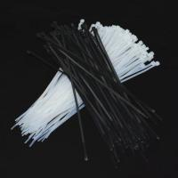 Buy cheap White / Black PA66 Nylon Cable Ties Cable Wraps Self-locking Aging-Resistant from wholesalers