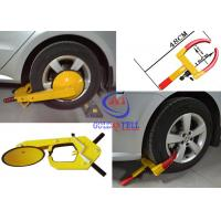 China Heavy Duty Security Car Wheel Clamp , Water proof vehicle wheel clamps for cars on sale