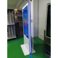 China Vertical Led Strip Light Base Touch Screen Kiosk 49 55 Inch Wide Viewing Angle wholesale