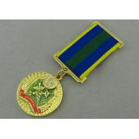 China Zinc Alloy Custom Awards Medals Die Casting with Transparent Enamel wholesale