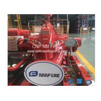 China 2000GPM / 135PSI Horizontal Split Case Fire Pump Ductile Cast Iron Materials UL Listed wholesale