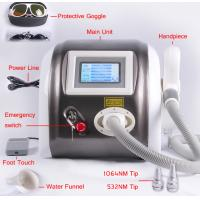 Buy cheap 1064nm 532nm 1320nm Laser Pigment Removal / Tattoo Removal Machine Multifunction from wholesalers