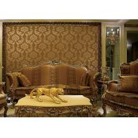 Buy cheap European Style Wet Embossing peel and stick wall covering 0.685*8.32M Different Colors from wholesalers
