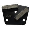 China Rectangle Diamond Floor Pads Grinding Segment For Concrete Stone Floor Abrasive Machine wholesale