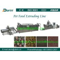 China Darin CE ISO Certified Dog Feed Extruder machine / processing Line wholesale