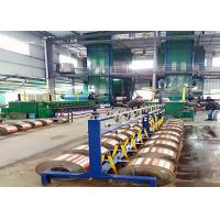 China Double Furnace Super Enamelled Copper Wire Machine With Heated Air Circulation wholesale