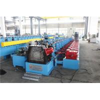 China Upright Sheet Metal Forming Machine , Gutter Roll Forming Machine Gear Box wholesale