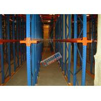 China Heavy Load Drive In Racking , Galvanised Pallet Racking Storage Drive Through Racks wholesale