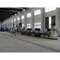 China High Performance Pet Recycling Line Hot Water Tank Washing Easy Maintenance on sale