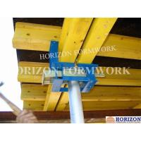 Quality Q235 Steel Slab Formwork Systems Table Head 230*145mm To Clamp Double H20 Beams for sale