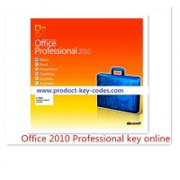 China Permanent original microsoft office 2010 professional product key Activation Online wholesale