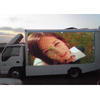 China Outdoor P10 Truck Mounted LED Screen 7500nits , Full Color LED Advertising Truck wholesale