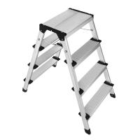 China Compact Size Aluminum Step Stool 2x4 Steps  Easy To Carry And Store wholesale