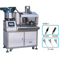 China Single Copper Terminal Crimping Machine Automatic Feeding High Efficiency wholesale