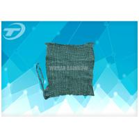 China 4x4 Non Sterile Medical Gauze For Wound Care Green Color High Absorbency on sale