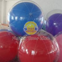 China Transparent Inflatable Advertising Inflatable Helium Balloon for Entertainment events wholesale