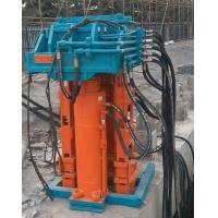 China Beiyi Hydraulic  I/H-beam hydraulic pile extractor machine mainly used in municipal construction. wholesale